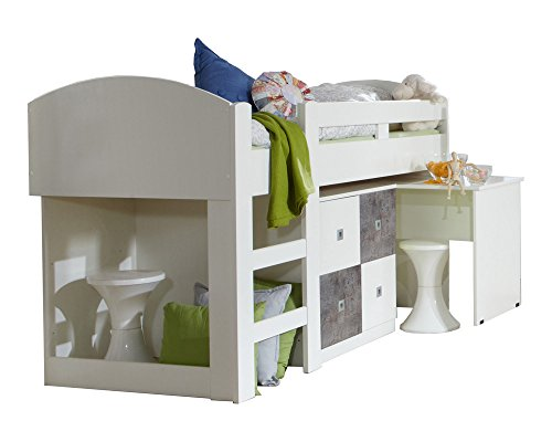 Etagenbett Abc : Kinderbett babybett abc creations pinocchio etagenbett matratze